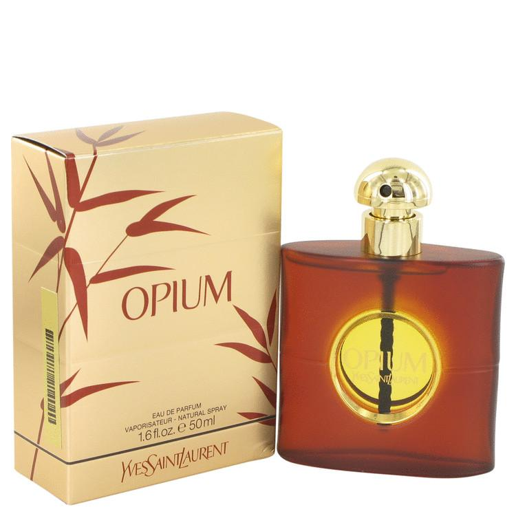 OPIUM by Yves Saint Laurent Eau De Parfum Spray (New Packaging) 1.6 oz for Women - Chaos Fragrances