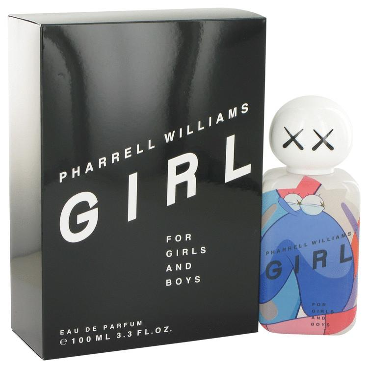 Pharrell Williams Girl by Pharrell Williams Gift Set -- 3.4 oz Eau De Parfum Spray + .33 oz Mini EDP Spray for Women - Chaos Fragrances