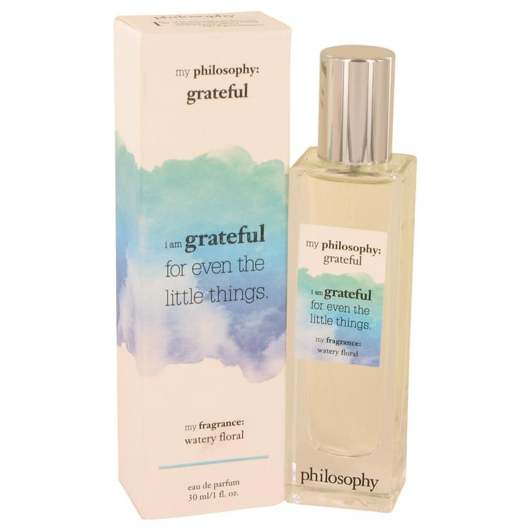 Philosophy Grateful by Philosophy Eau De Parfum Spray 1 oz for Women - Chaos Fragrances