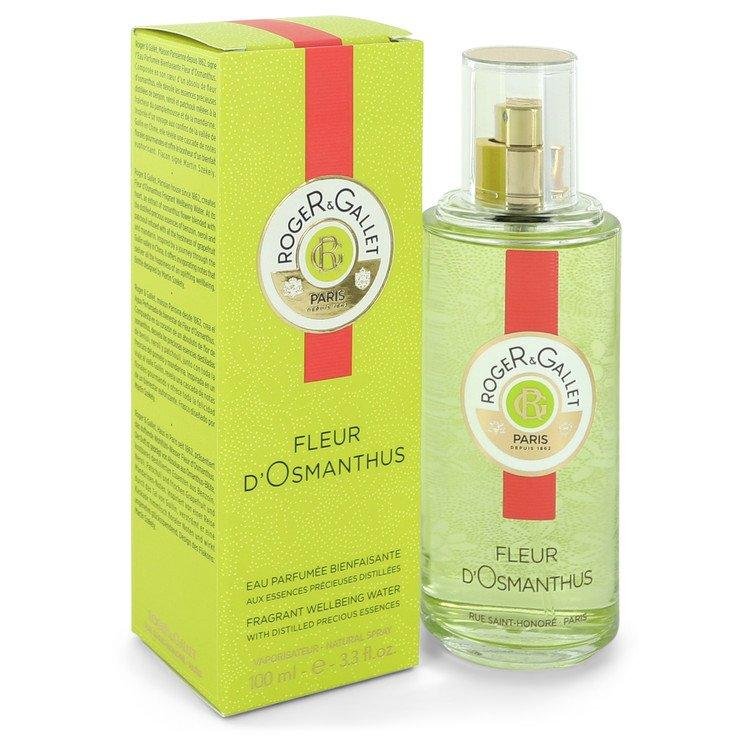 Roger & Gallet Fleur D'Osmanthus by Roger & Gallet Fragrant Wellbeing Water Spray 3.3 oz for Women - Chaos Fragrances