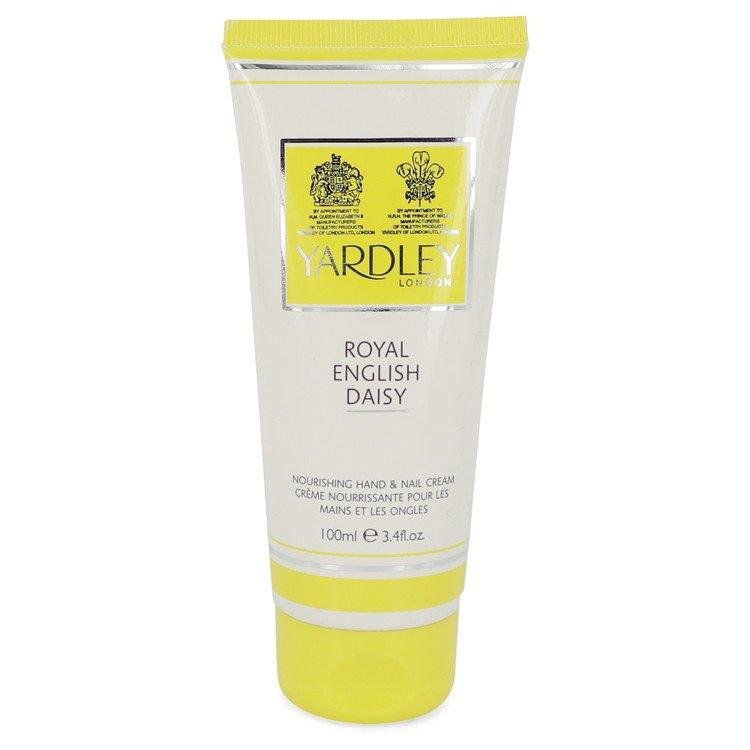 Royal English Daisy by Yardley London Hand And Nail Cream 3.4 oz  for Women - Chaos Fragrances