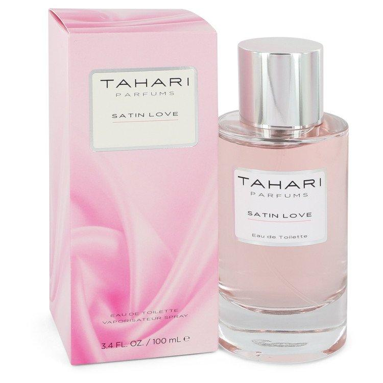 Satin Love by Tahari Parfums Eau De Toilette Spray 3.4 oz for Women - Chaos Fragrances