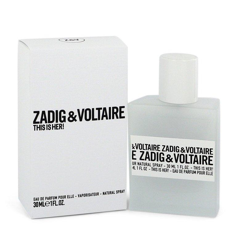 This is Her by Zadig & Voltaire Eau De Parfum Spray for Women - Chaos Fragrances