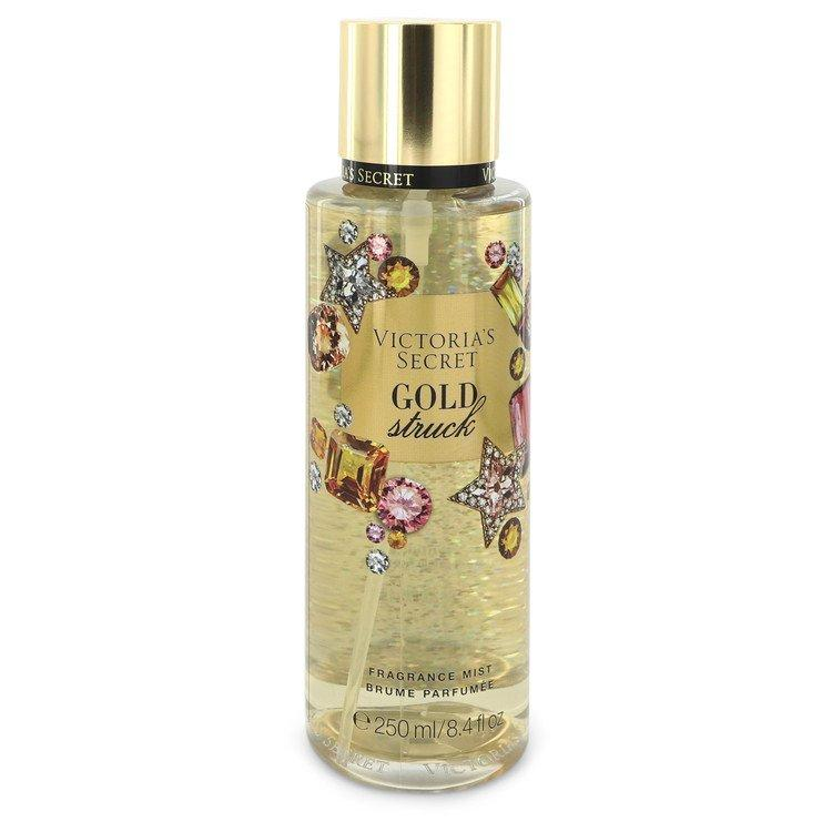 Victoria's Secret Gold Struck by Victoria's Secret Fragrance Mist Spray 8.4 oz for Women - Chaos Fragrances