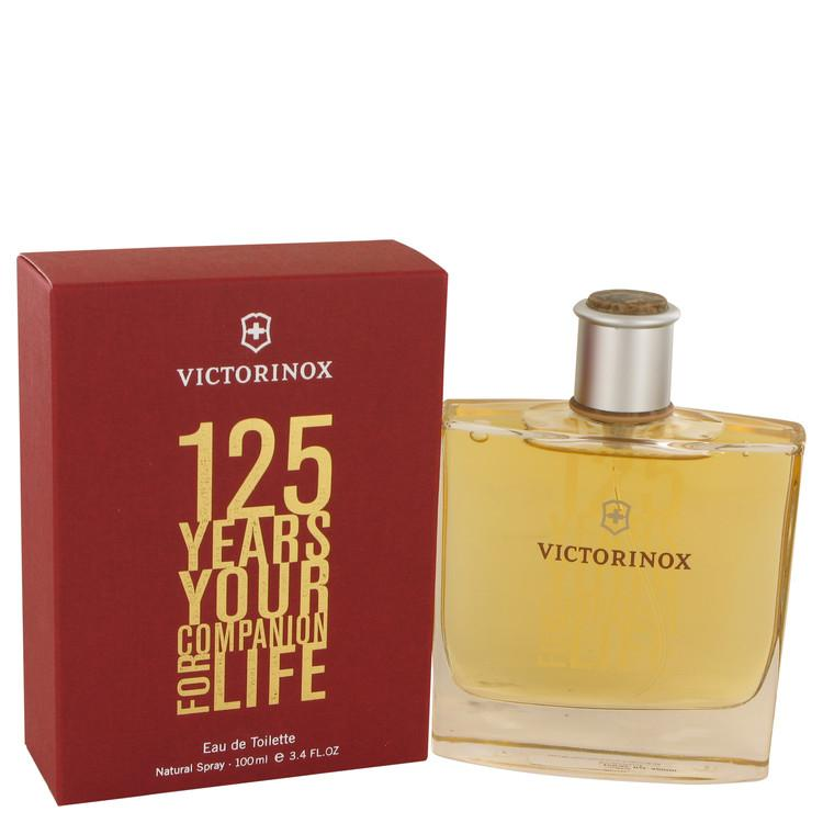 Victorinox 125 Years by Victorinox Eau De Toilette Spray (Limited Edition) 3.4 oz for Men - Chaos Fragrances