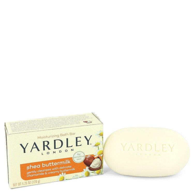 Yardley London Soaps by Yardley London Shea Butter Milk Naturally Moisturizing Bath Soap 4.25 oz for Women - Chaos Fragrances