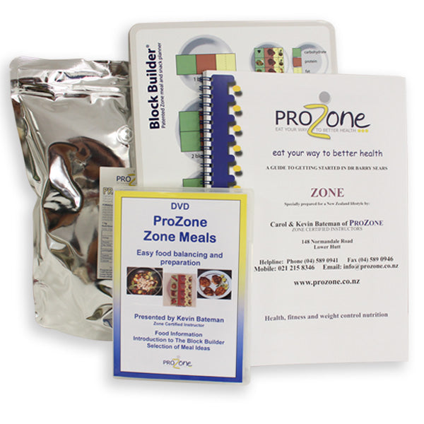 ProZone Regular Starter Pack Plus Protein