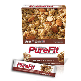 Oatmeal Cinnamon PureFit Zone bars best by February 2019