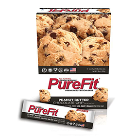 Peanut Butter Chocolate Chip PureFit Zone bars