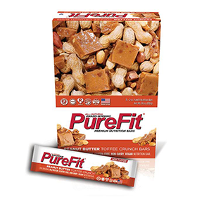 NEW Peanut Butter Toffee Crunch PureFit Zone bars