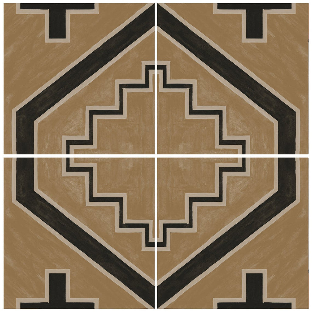 Tribu geometric brown