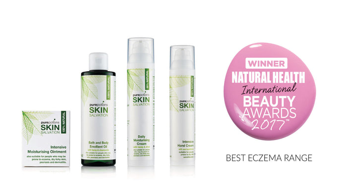 Skin Salvation has won Best Eczema Range 2017!