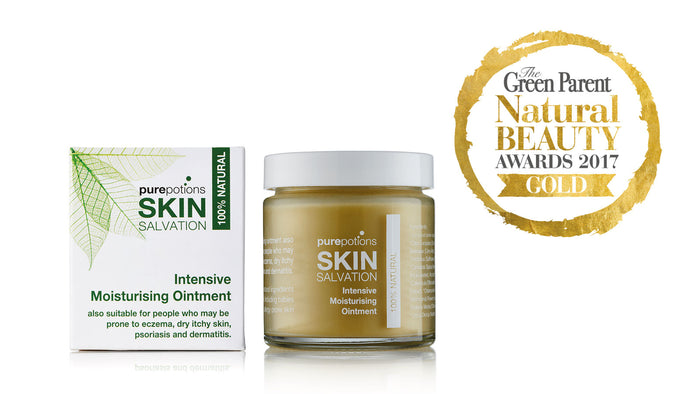 Skin Salvation wins Green Parent Gold Award 2017!