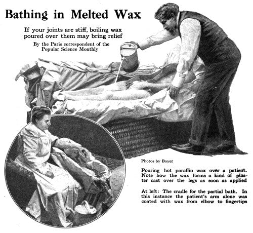 Paraffin Wax Treatments from 1917
