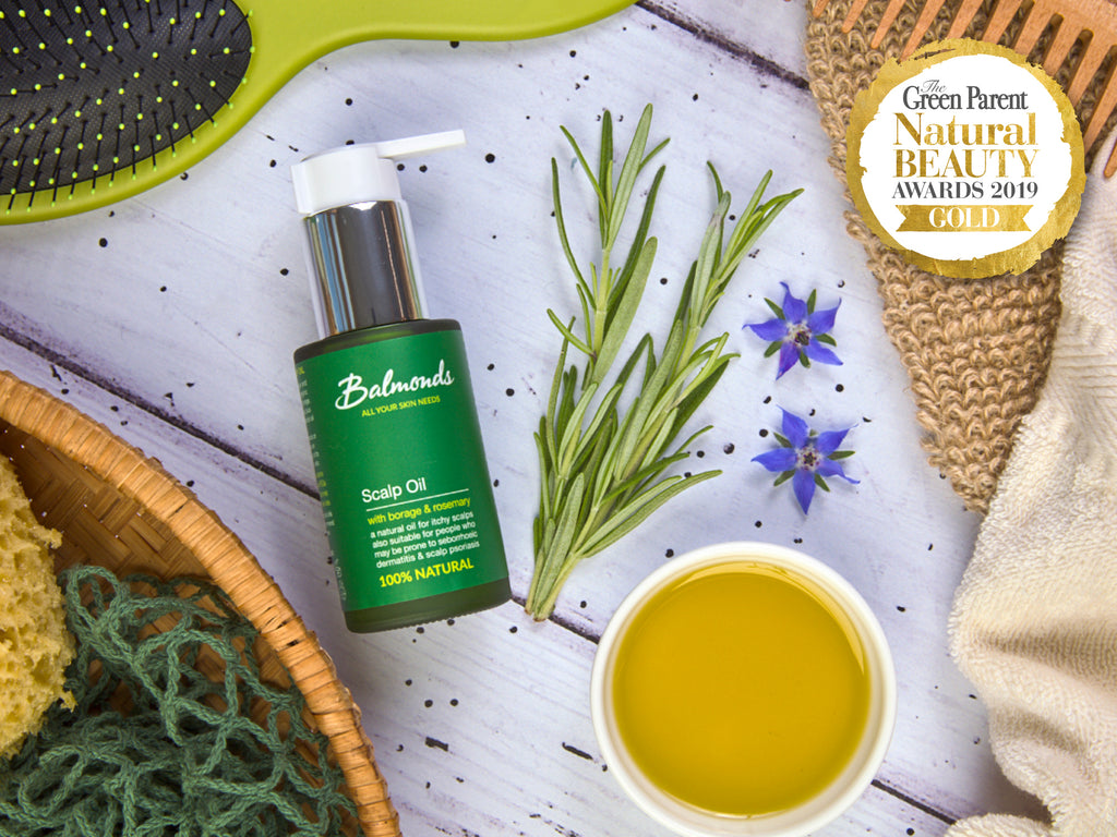 Balmonds Scalp Oil for itchy diabetic feet
