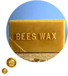 a beeswax base forms a semi-occlusive barrier, locking moisture in for longer and helping to keep external irritants out whilst soothing the itch and providing antibacterial and anti-inflammatory protection