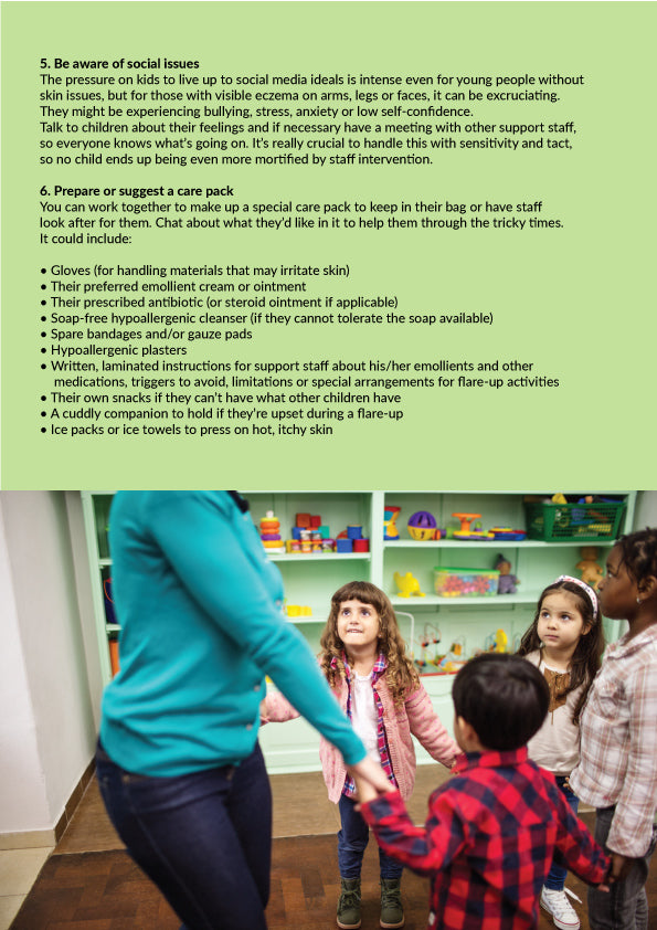 Eczema: info sheet for Childcare Providers 2
