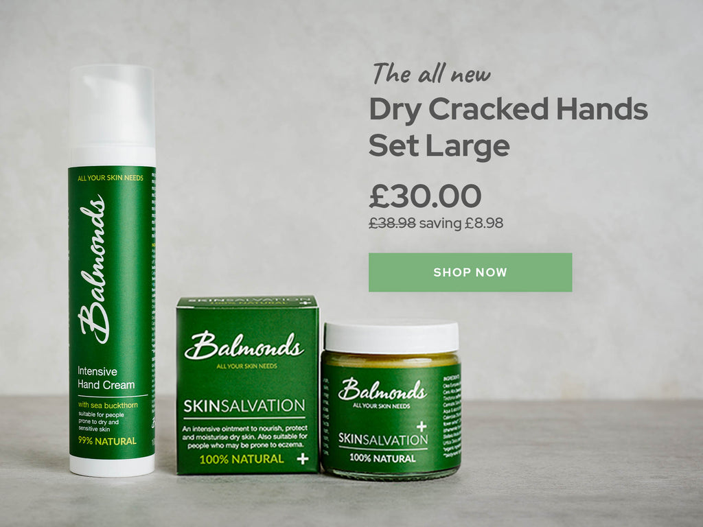 Dry Cracked Skin Hands Large