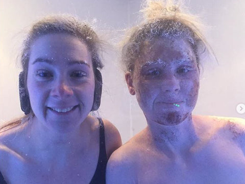 Cryotherapy Lou and Harriet