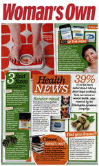 Skin Salvation Customer Review in Womans Own April 2015