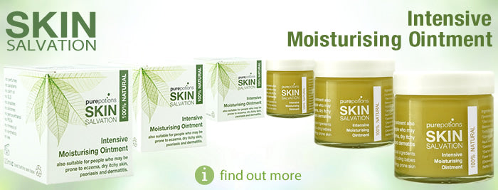 Skin Salvation Intensive Moisturising Ointment- made with Hemp Oil, packed with EFAs