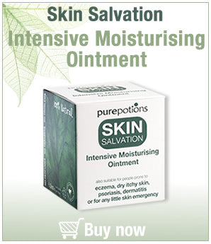 Skin Salvation Intensive Moisturising Ointment- a natural solution for those prone to eczema on the face