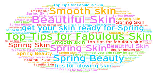 Spring Skin advertising and the effect on those suffering from skin problems