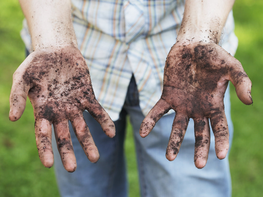 What Can I Soak My Hands In To Remove Dirt?
