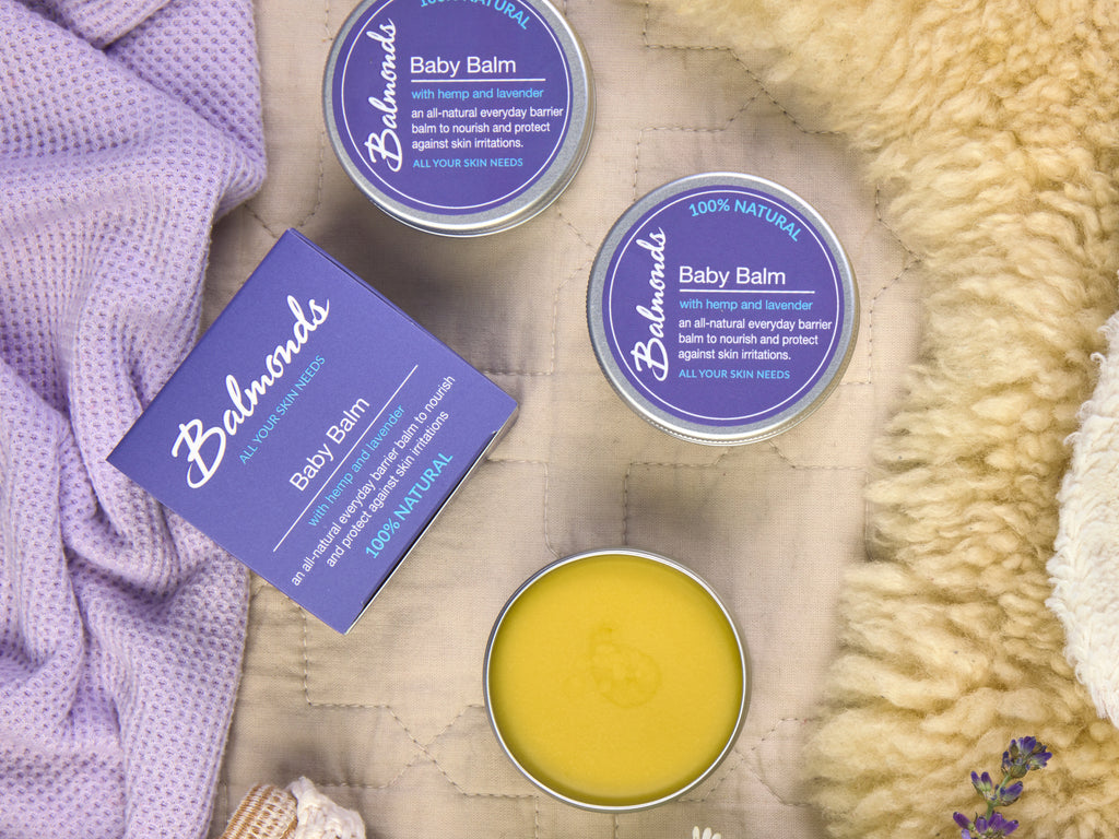 Balmonds Baby Balm for radiation burns