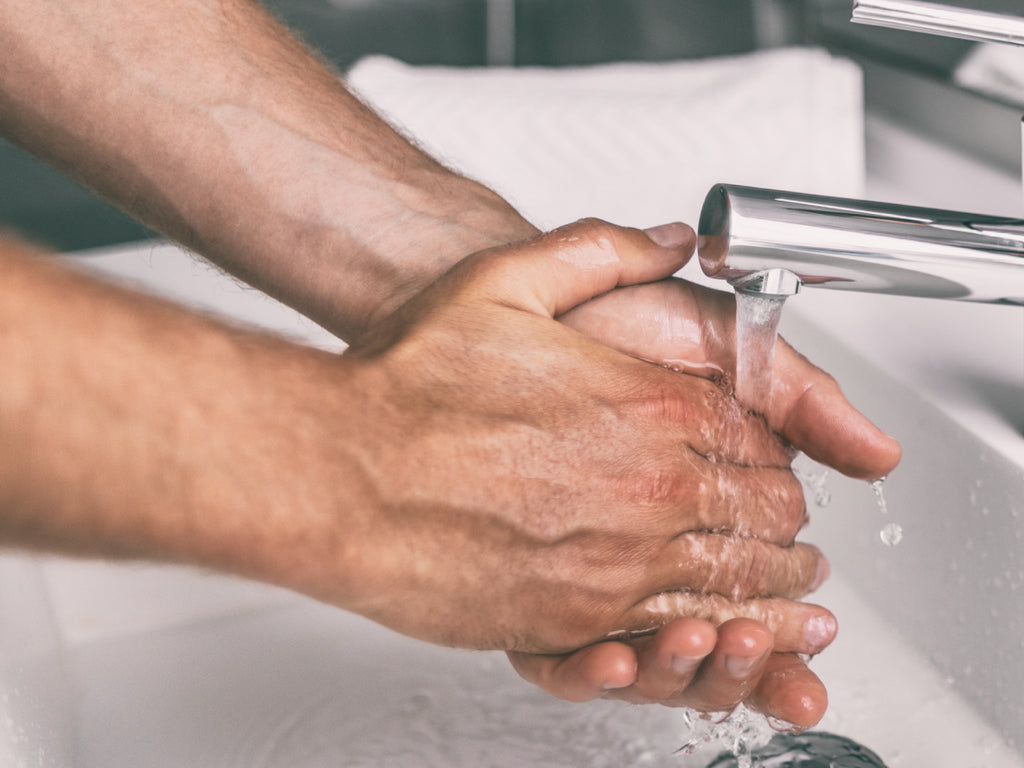 Does hard water make your hands dry