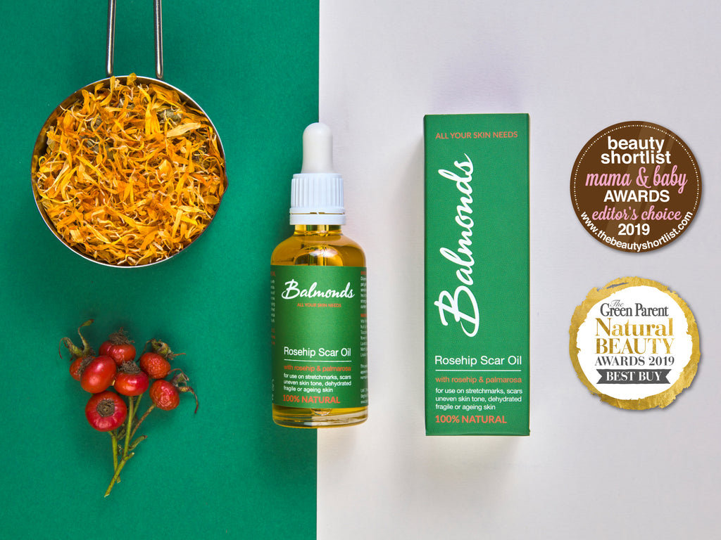How to use Balmonds Rosehip Scar Oil