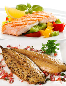 Oily Fish contain high levels of essential fatty acids
