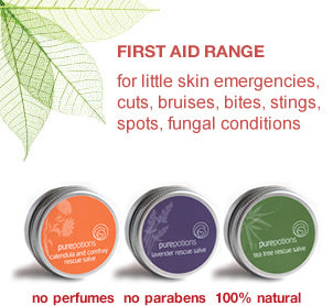 First Aid Range - for everyday skin emergencies