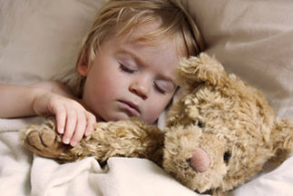 Healthy sleep helps children cope with stress