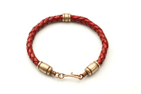 Large Leather bracelet