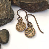 Rocks and Foundry Logo Earrings
