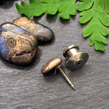 Small Bronze Tie Tack! // gifts for him // Father's Day gifts