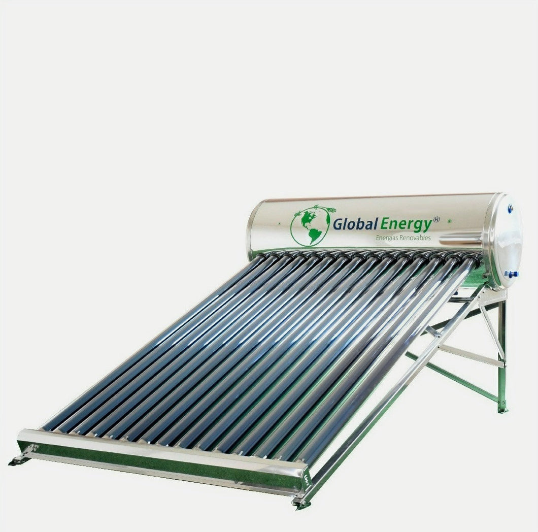 CALENTADOR SOLAR GLOBAL ENERGY 15 TUBOS