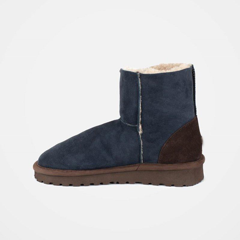 Simple Casual Flat Heel Winter Boots