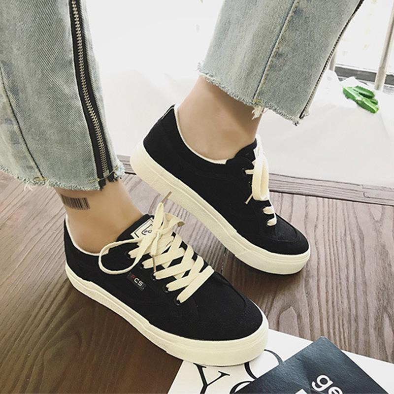 Women's/Men's Casual Canvas Basic Sneakers