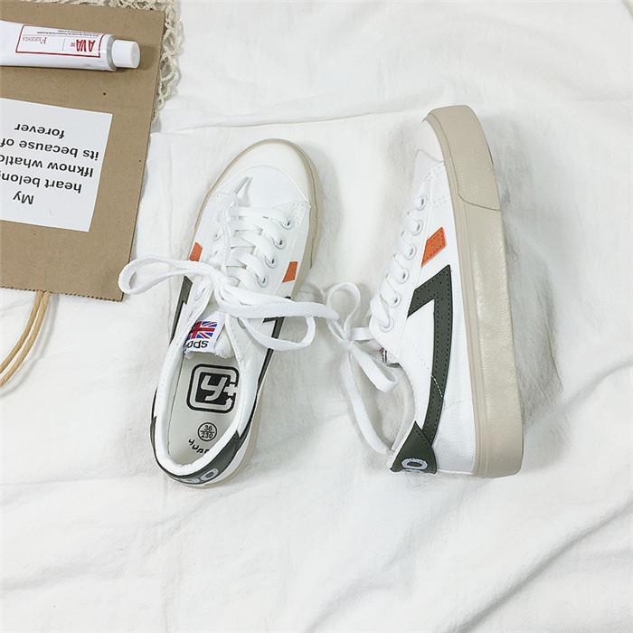 Women's Low-top Fashion Flat Casual Sneakers