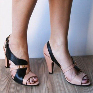 Women High Heel Open Toe Elegant Sandals
