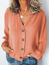 Spring/Summer Cardigan Long Sleeve Chiffon Women Blouse