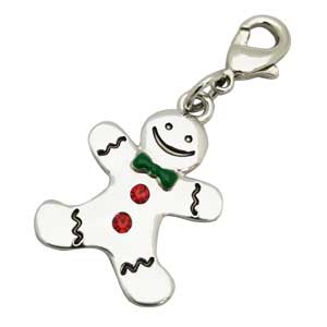 GINGERBREAD MAN DANGLE