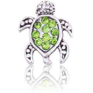TURTLE WITH GREEN CRYSTAL