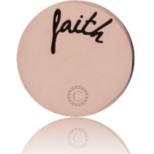 """FAITH"" MIRROR ROSE GOLD"