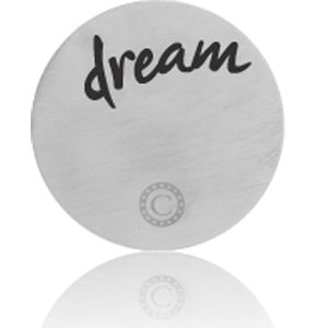 """DREAM"" BRUSHED SILVER"