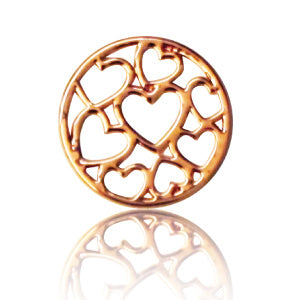 HEARTS (ROSE GOLD)