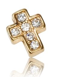 CRYSTAL GOLDEN CROSS