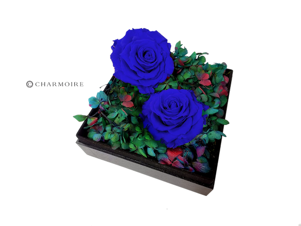 Charmoire Floral - Blue